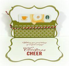 Rose Blossom Legacies: Rose Blossom Blog Hop (and a Giveaway!) - Inside of gift card holder
