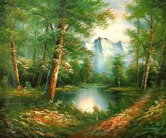 woodland landscape - Google Search