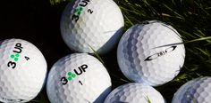 Review of 3UP Golf Balls - 2S14 2 piece