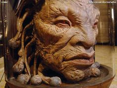 The face of Boe.( Also known as Captain Jack Harkness)