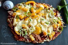 Low Carb Thunfisch Pizza extra scharf | SchokoladenFee