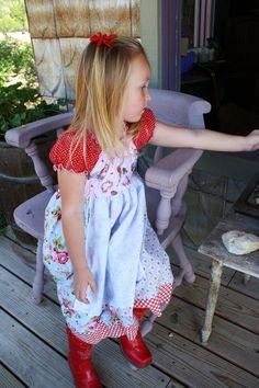 Raggedy Ann dress.
