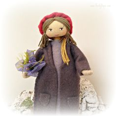 Artisan doll inspired by Provence | by Verity Hope www.VerityHope.com