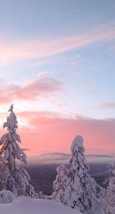 A bit of pink! Finland.