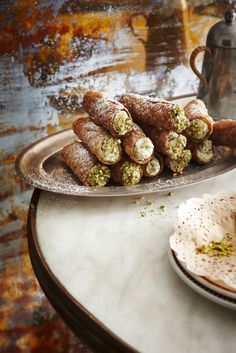 the food dept.: LA DOLCI VITA – Italian dessert recipes from Luca Ciano for the food dept's Italian dessert feature