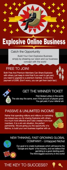 Welcome to Explosive Global, a community of like minded people - the first shared business concept based around crowd and shared economy terms Lottery Strategy, Safe Investments, Way To Make Money, How To Make, Earn Money Online, Affiliate Marketing, 10 Years, Productivity, Online Business