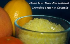 Have the SOFTEST Laundry Ever By Adding Homemade Softener Crystals to Your Wash