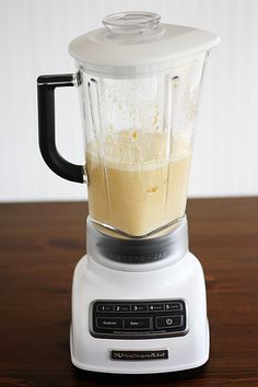Yum!! Make pancakes in a blender - Blender Pumpkin Pancakes Recipe just substitute flour for a gluten free all purpose flour!!