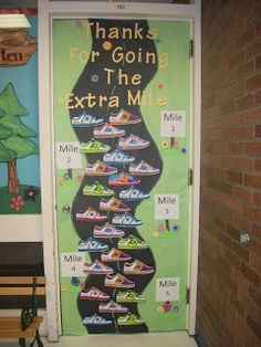 OREM ELEMENTARY PTA teacher appreciation doors