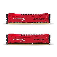 HyperX Savage HX316C9SRK2/8 Arbeitsspeicher 8GB (1600MHz, CL9) DDR3-RAM Kit (2x4GB)