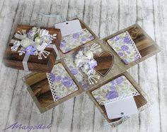 MargotkabCZ: Jak darovat peníze na svatbu Wedding Gift Boxes, Wedding Gifts, Exploding Boxes, Decorative Boxes, Manualidades, Fimo, Wedding Day Gifts, Wedding Favors, Decorative Storage Boxes