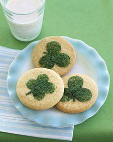 Clover Cookies - Martha Stewart