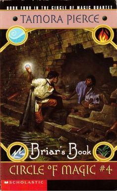 Briar's Book (Circle of Magic, #4) - Tamora Pierce. Finished 9.9.13 (Audio Book)