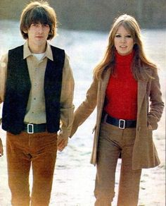 George and Pattie Harrison. What a fab couple.