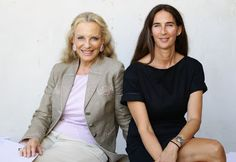 Princess Michael of Kent (L) and Bianca Arrivabene attend the Luisa Beccaria Spring/Summer 2012 fashion show as part Milan Womenswear Fashion Week on September 2011 in Milan, Italy. Luisa Beccaria, Queen Victoria Descendants, Queen Victoria Prince Albert, Fashion Show, Milan Fashion, Front Row, Backstage, What To Wear, Women Wear