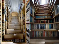 Staircase Library! Love it!