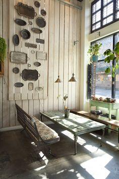 silver platter wall