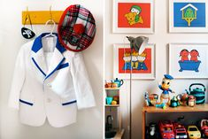 Suit jacket + Miffy - The East Prahran (Melbourne) home of Jess Wright + family, Photo by Lucy Feagins, via thedesignfiles