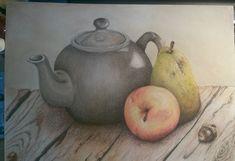 Still life pastel drawing ☺
