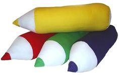 Giant Pencil cushions