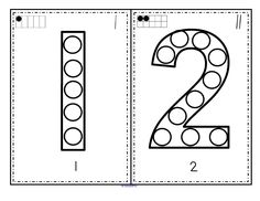 Includes a small 10-frame and tally marks counter on each card. - Print on cardstock and cut into cards - Print with a circle marker, bingo dauber, or similar. - Can also use garage sale stickers, pasted collage material, or a finger dipped in paint etc. - Encourages development of hand-eye coordination, small muscle control, recognition of numbers, and it's fun!