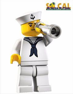 LEGO MINIFIGURES SERIES 4 8804 Sailor #LEGO
