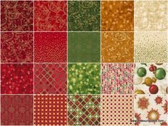 Great quilting website https://www.missouriquiltco.com/Winter's Grandeur 4 - Holiday Colorstory Metallic Ten Squares