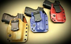 Color is okay. It's a concealed carry holster!
