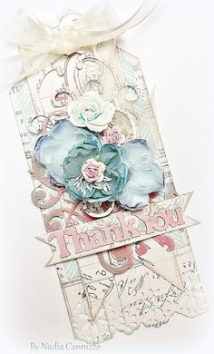 Created by Nadia Cannizzo for 2Crafty chipboard for April 2013, Teresa Collins, Now and Then collection