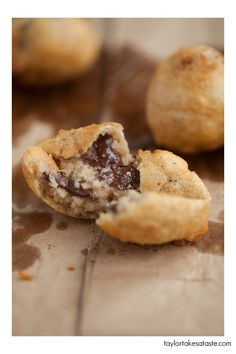 Deep Fried Chocolate Chip Cookie Dough.