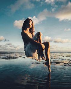Marvelous Levitation Portrait Photography by Christopher James #art #photography #Portrait Photography