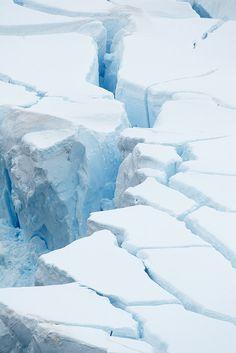 Ice tiles in Antarctica