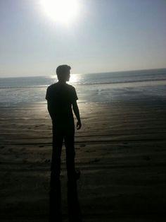 Malhar Takle at Arnala Beach ,Virar