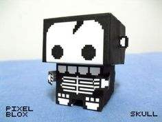 Paper Toy - Skull   Papercraft4u   Free Papercrafts, Paper Toys, Paper Models, Gratis