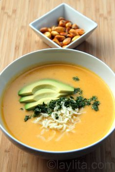 Locro de papa con queso / Ecuadorian potato cheese soup
