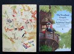 Jeremy Lloyd x2 HardBacks Captain Beaky 1st edition  & The Woodland Gospels