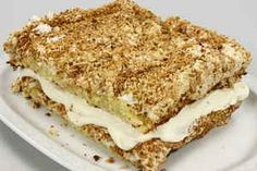 Norsk kvægfjordskage Perhaps the best cake in the world Danish Dessert, Danish Food, Baking Recipes, Cake Recipes, Sweets Cake, Food Cakes, No Bake Cake, Food And Drink, Yummy Food