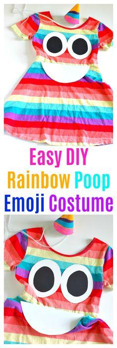 Easy DIY Rainbow Poo