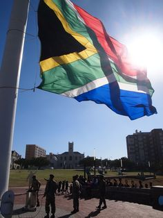 The largest flag in Africa Africa, Flag, Outdoor Decor, Home Decor, Decoration Home, Science, Interior Design, Home Interior Design, Afro