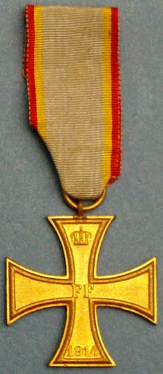 The Military Merit Cross (Militärverdienstkreuz) was established by Friedrich Franz II, Grand Duke of Mecklenburg-Schwerin on August 5, 1848. Mecklenburg-Schwerin, a grand duchy located in northern Germany, was a member of the German Confederation and later the German Empire.