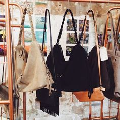 Nieuwe tassen binnen van House of Sakk #bags #atelier8 #haarlem #shop