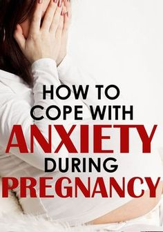 Anxiety in pregnancy is TERRIBLE but there are things you can do to make it easier to deal with! #NaturalPregnancyParenting