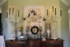 Great idea for October Halloween Decor!