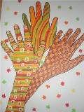 podzimní stromy z rukou 2http://vytvarka.eu/kresleni/podzim_ruce.html