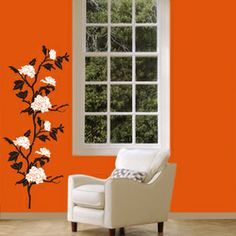 flowers decals Silhouette Design.in Adorn your wall with Silhouette Design and see the change in your decor. The most easy way to enhance your space.   mail us at:- info.silhouettedesign@gmail.com