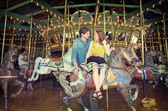 Carousel at Faust Park...they rent it for weddings...