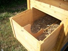 Nesting Boxes-5 tips to build the right size & shape etc..... must read before you build a nesting box!