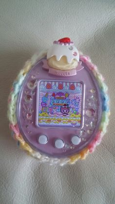 Decoratchi on my Tamagotchi P's.  Is'nt she cute?