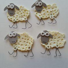 easter sheep/hama beads
