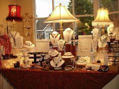 Craft Show Jewelry Display Ideas   visit mollysleland com